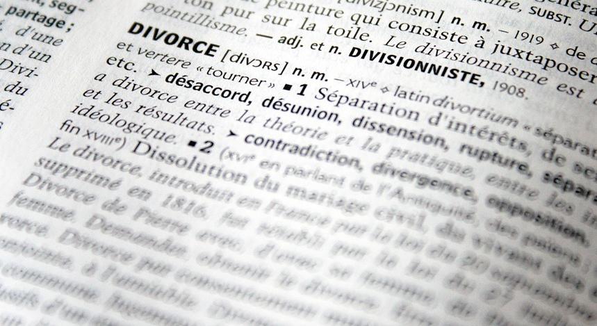 Scheidung einreichen
